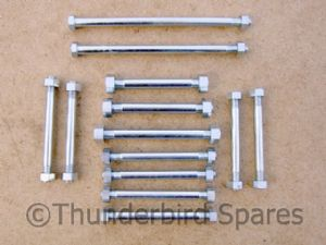 Engine Mounting Stud Set, Triumph Pre-Unit, all 1954-59